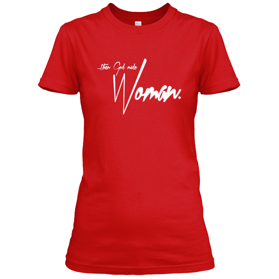 god_made_woman_tee