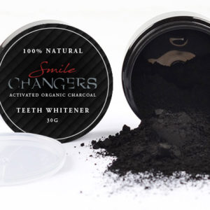 Smile Changers Organic Charcoal Whitening Powder